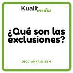 exclusiones