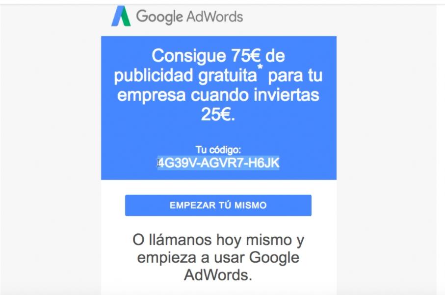 [TRUCO] ✅ Guía para Conseguir el Cupón de Google Ads de 75€ 【2019】